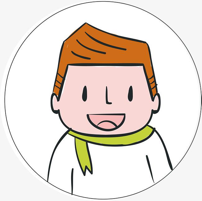 卡通学生头像图片