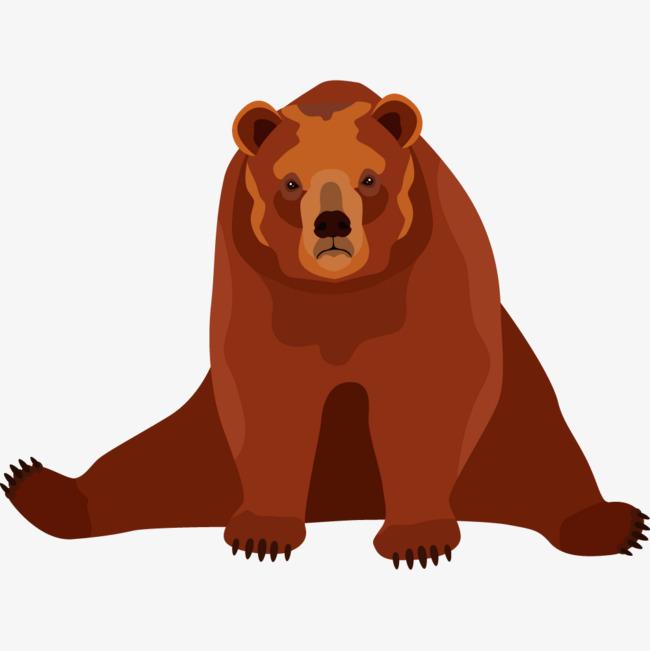 卡通狗熊简笔画_卡通狗熊