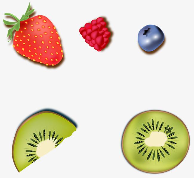 矢量手绘水果图案
