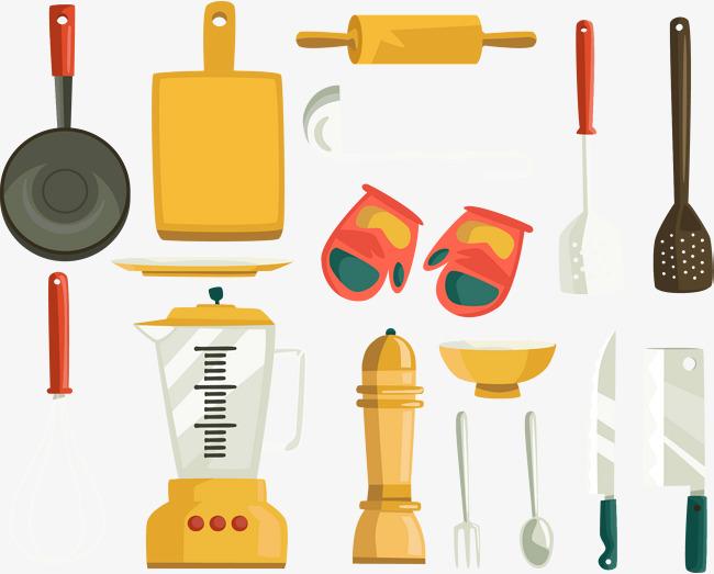 厨房用具大全图片