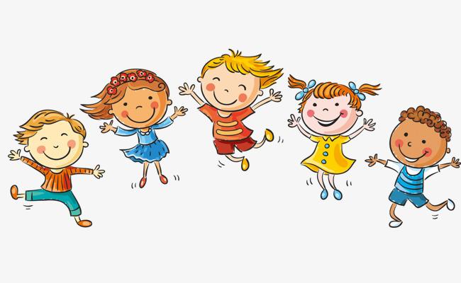 卡通 手绘 跳跃 孩子 兴奋卡通 手绘 跳跃 孩子 兴奋免扣素材