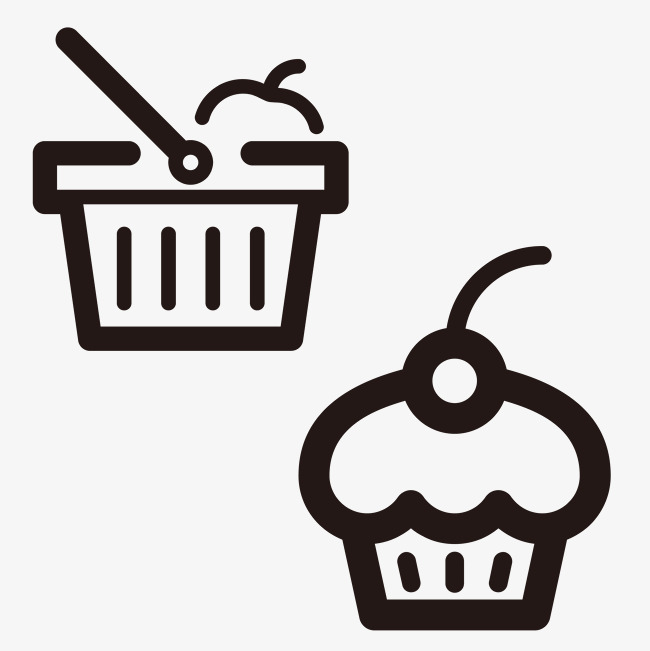 冰淇淋图标素材图片免费下载_高清图标素材png_千库网