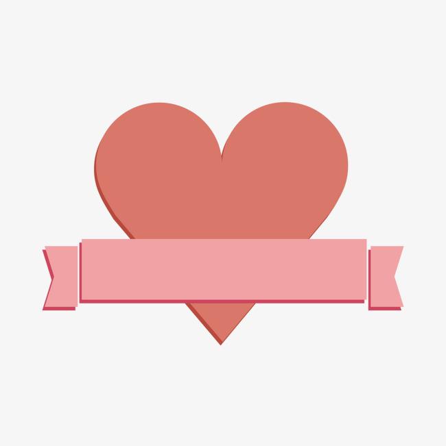 复古丝带心爱短信卡设计免费下载png素材-90设计