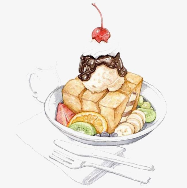 图片 水彩插画 > 【png】 水彩食物  分类:手绘动漫 类目:其他 格式:p