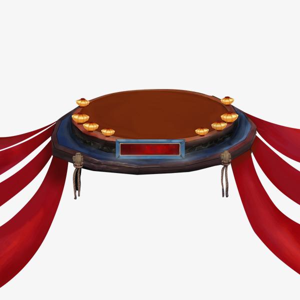 本次中国风游戏圆形舞台png作品为设计师苹果龙创作,格式为png,编号为