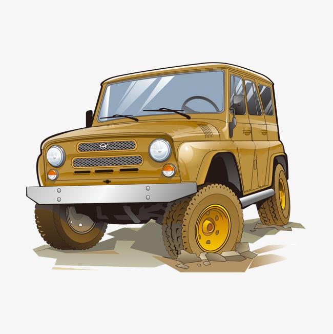 90设计提供高清png手绘动漫素材免费下载,本次越野车作品为设计师隐身