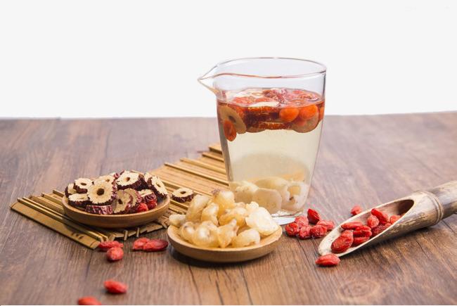 桂圆红枣枸杞养生茶