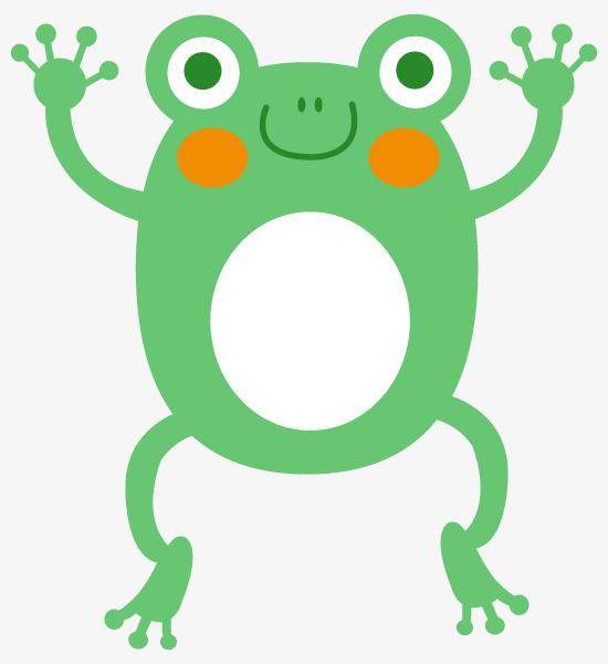 图片 > 【png】 卡通动物青蛙  分类:手绘动漫 类目:其他 格式:png 体