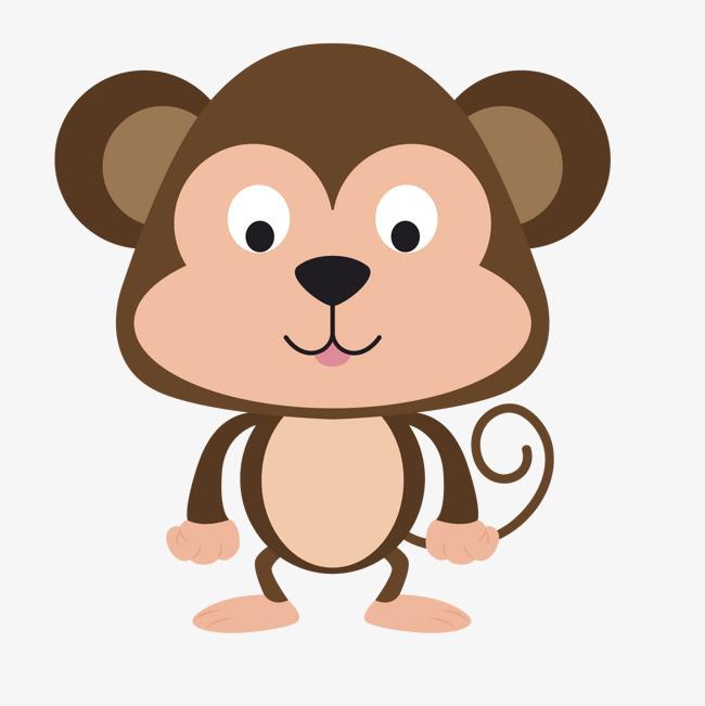卡通可爱小猴头像