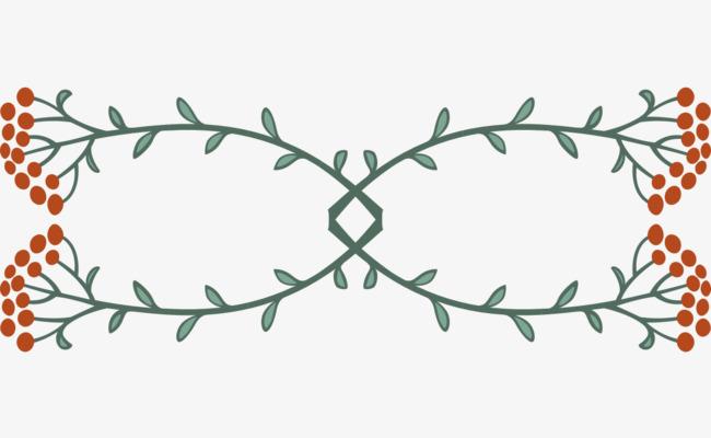 分割线 手绘 唯美 清新             此素材是90设计网官方设计出品
