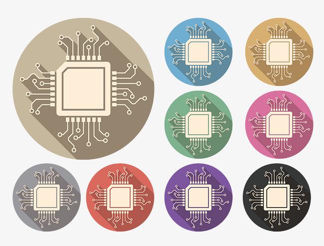 芯片  芯片电路  电路纹路  科技纹路  科技
