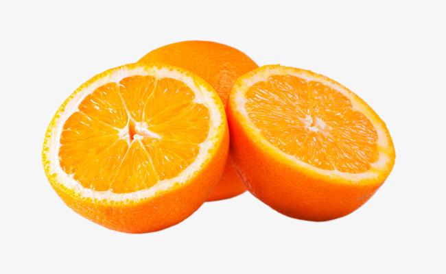 切开的橙子png素材-90设计