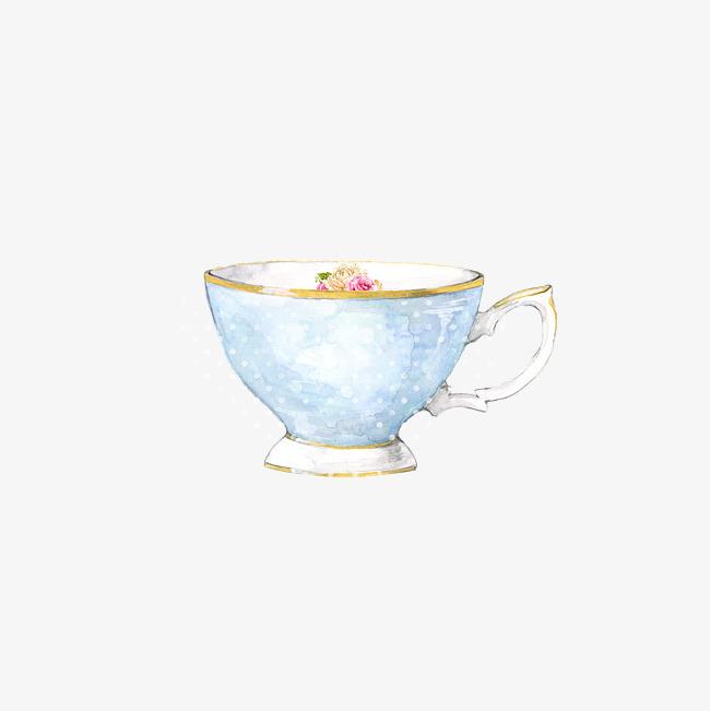 下午茶欧美手绘茶杯