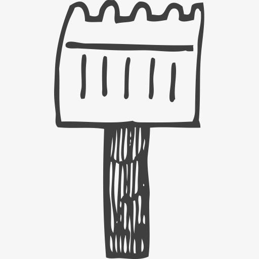 简笔画叉子怎么画