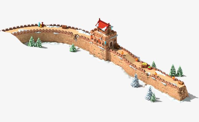 图片 > 【png】 雪地里的长城  分类:手绘动漫 类目:其他 格式:png