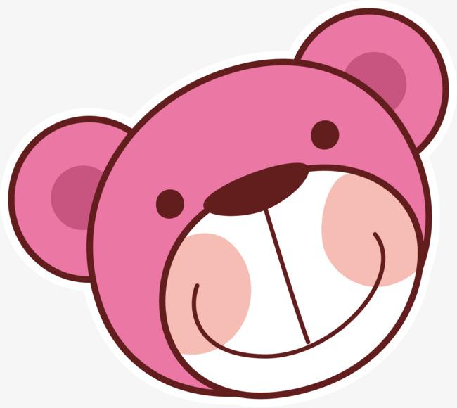 卡通可爱动物小熊头像