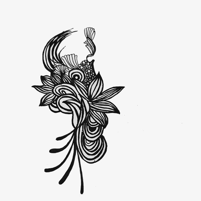 黑白纹样创意装饰图案图片