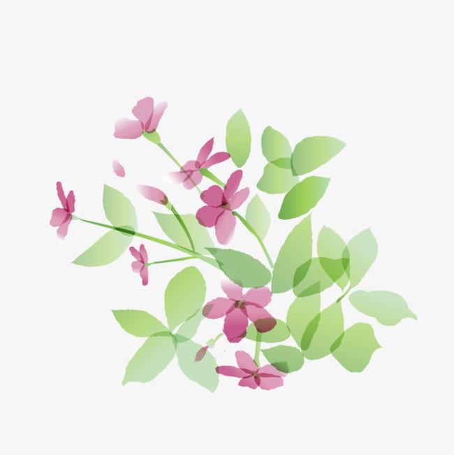 小清新手绘花朵