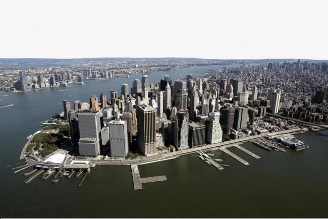图片 > 【png】 海边城市鸟瞰