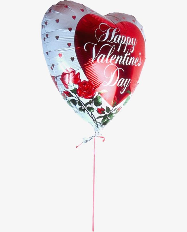 气球上的花朵图案