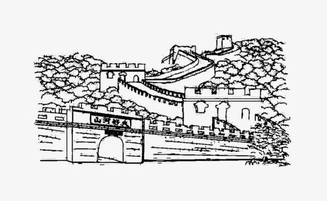 长城手绘图