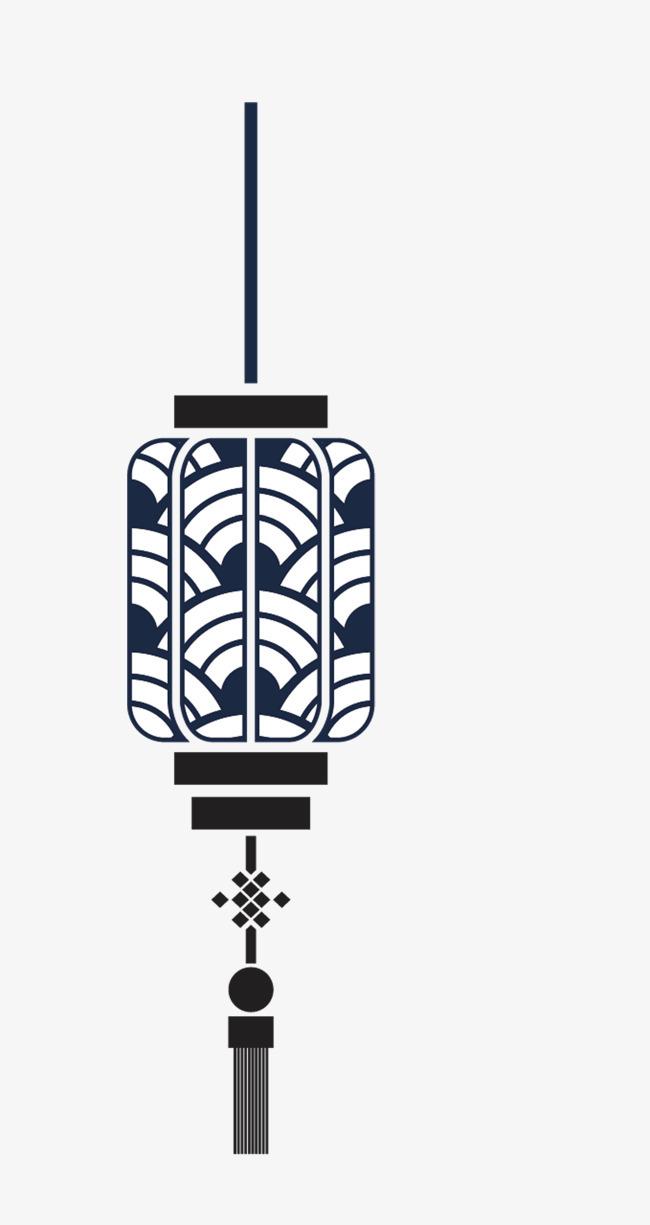 手绘花纹灯笼