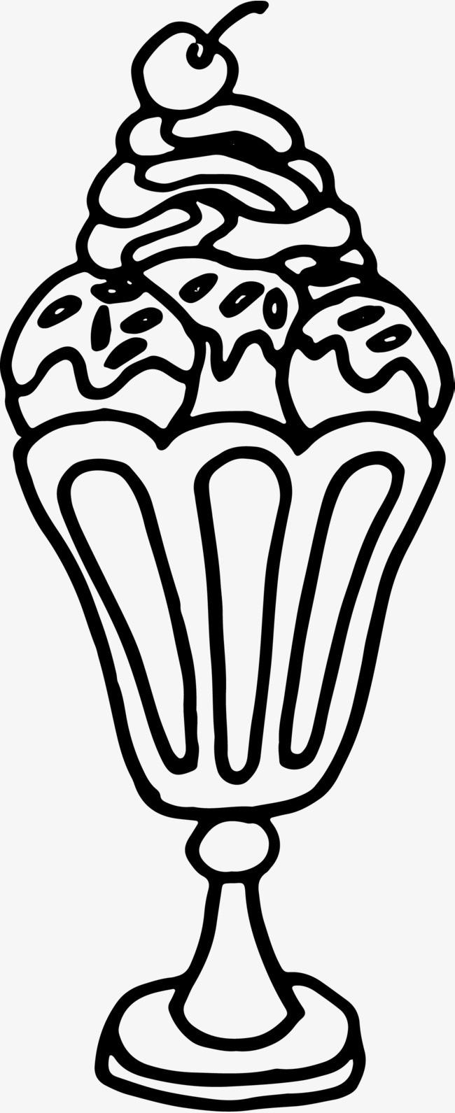 小甜品简笔画图片大全
