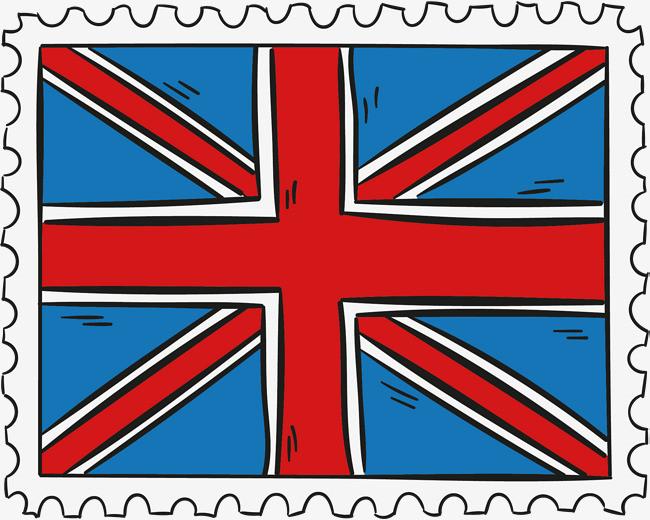图片 > 【png】 矢量英国国旗邮票  分类:手绘动漫 类目:其他 格式:pn