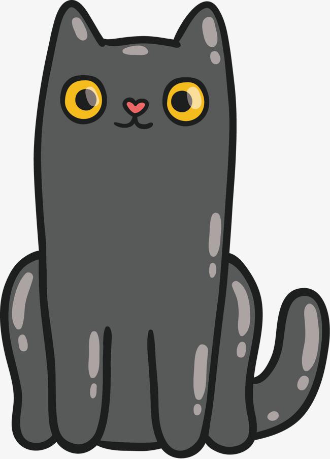 卡通可爱小猫咪