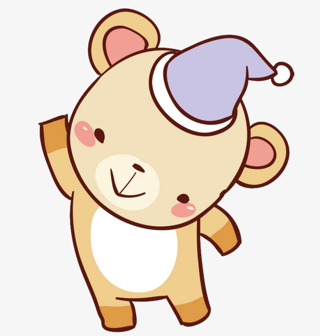 可爱卡通小熊图片