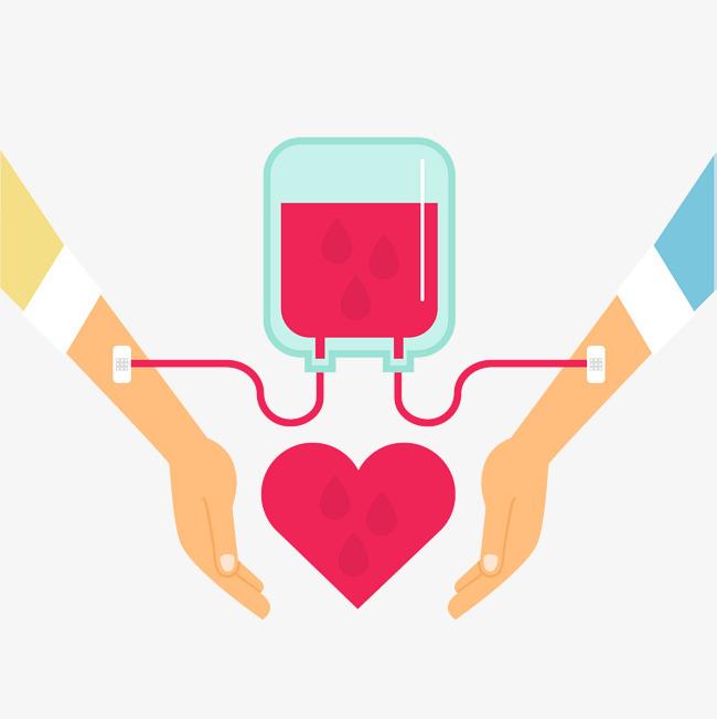世界献血日传递爱心图片