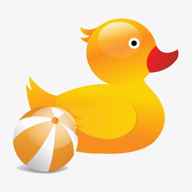 卡通小黄鸭