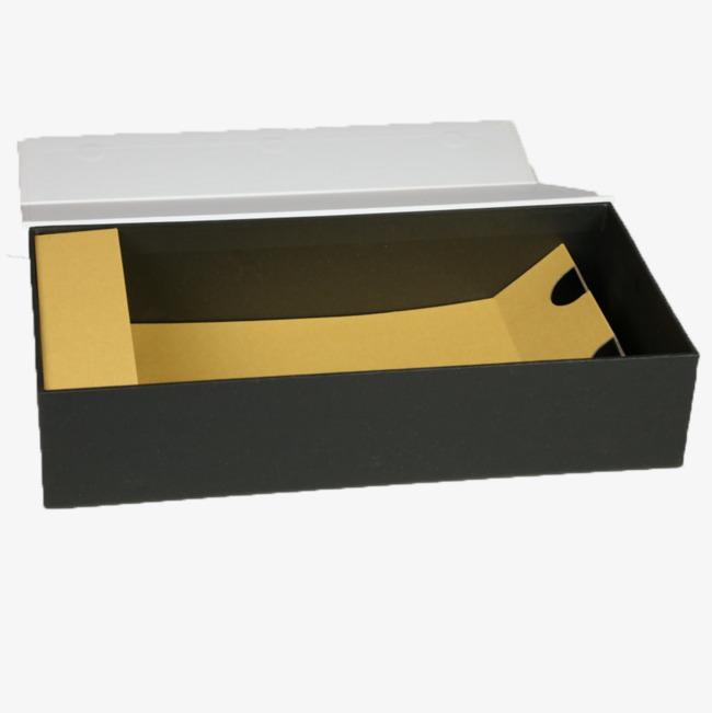 黑色立体长方形盒子