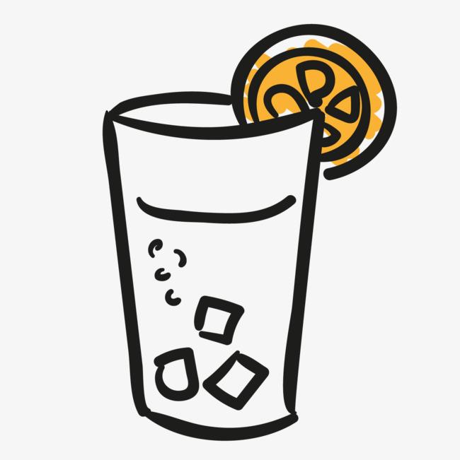 一片柠檬简笔画