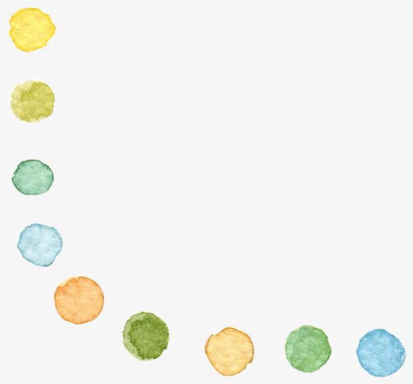 卡通 手绘 彩色 圆圈             此素材是90设计网官方设计出品,均