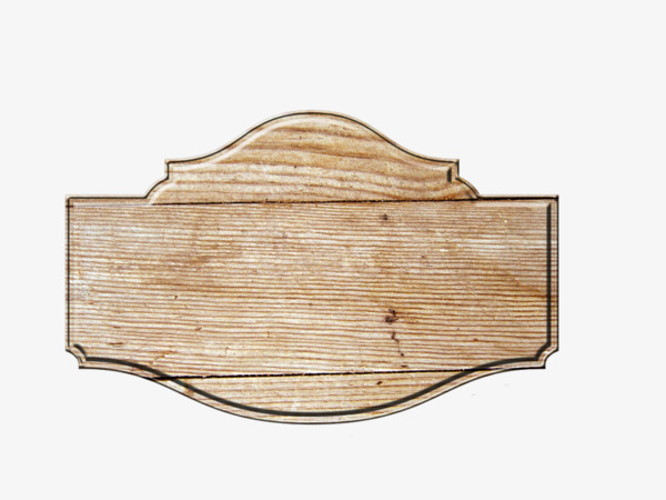 手绘木板图标
