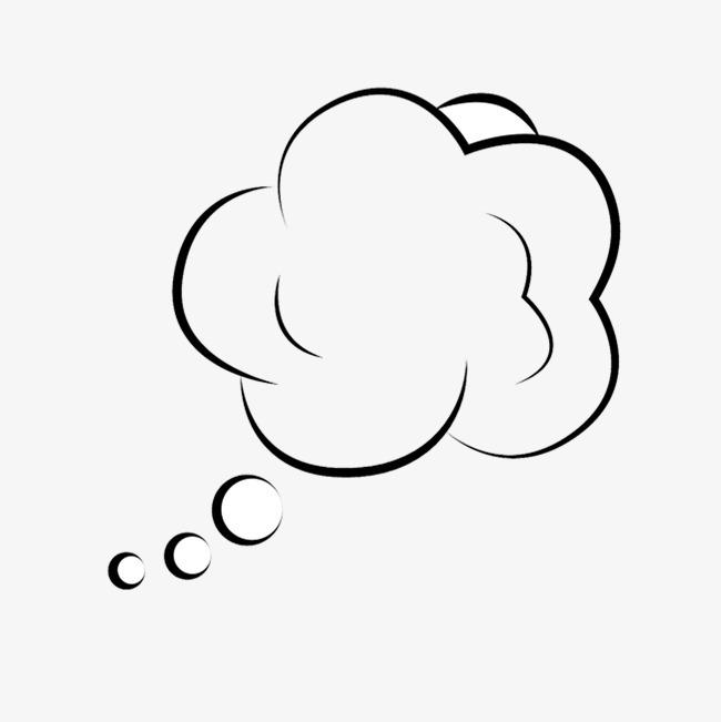 图片 图标元素 > 【png】 想法气泡思考  分类:图标元素 类目:其他