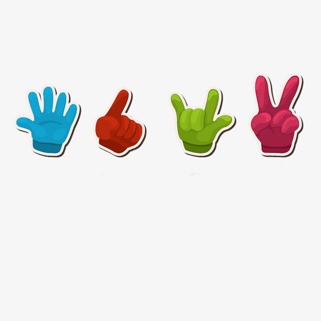 图片 > 【png】 彩色手指标  分类:图标元素 类目:其他 格式:png 体积图片