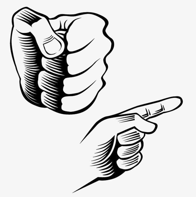 图片 阴影字体 > 【png】 手指标黑边阴影  分类:图标元素 类目:其他图片
