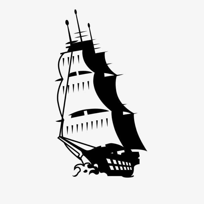 图片 装饰元素 > 【png】 手绘小船