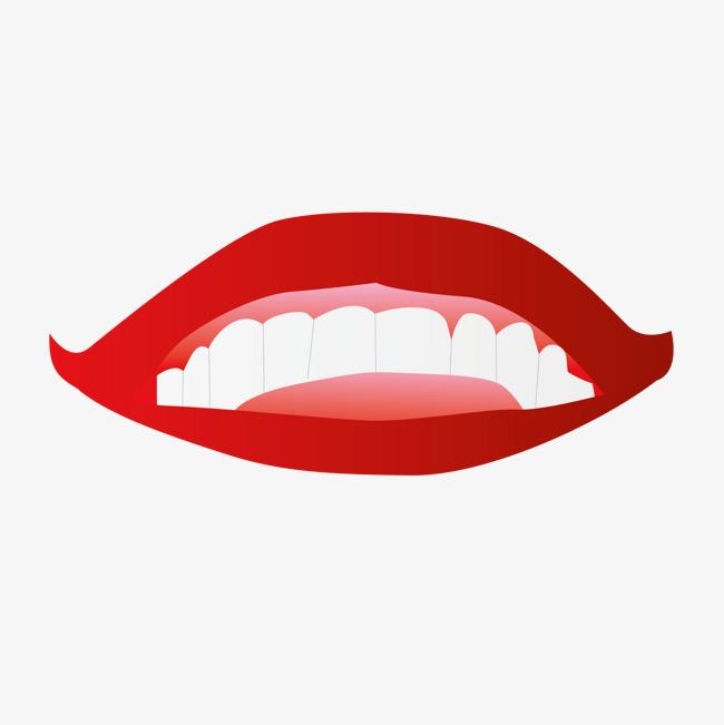 手绘 手绘画 嘴 牙齿手绘 手绘画 嘴 牙齿免扣素材