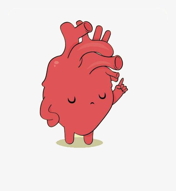 卡通心脏图片