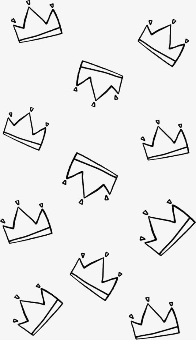 线条 皇冠 简笔 手绘             此素材是90设计网官方设计出品,均