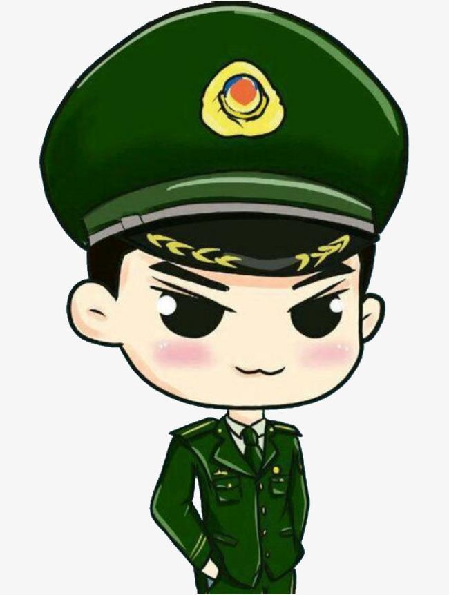 军人卡通图片