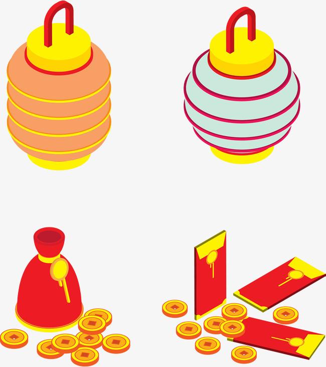 钱袋灯笼图标icon