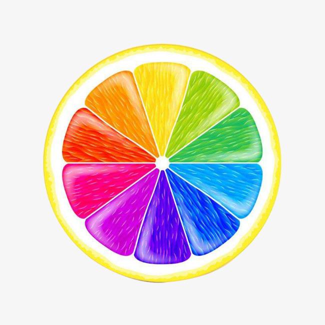 点击右侧免费下载按钮可进行 彩色橘子png图片素材高速下载.图片