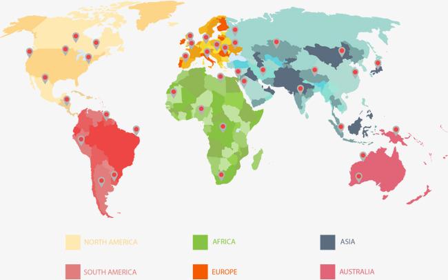 矢量手绘地图