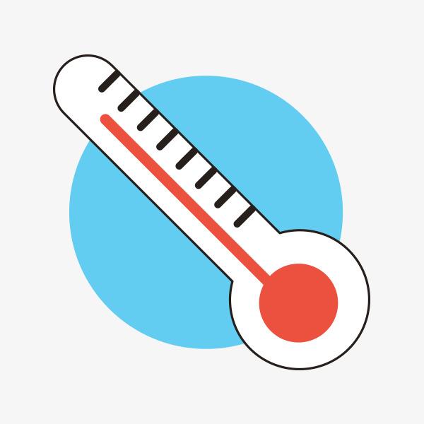 卡通温度计图片