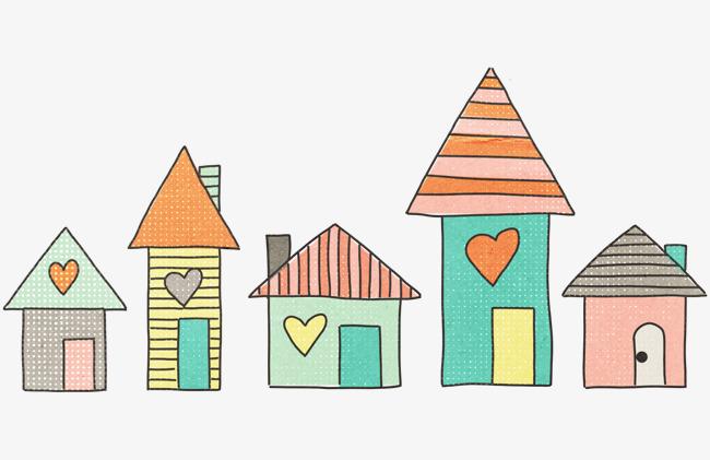 图片 > 【png】 爱心房子  分类:手绘动漫 类目:其他 格式:png 体积:0