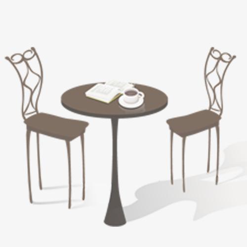 桌子和椅子png素材-90设计